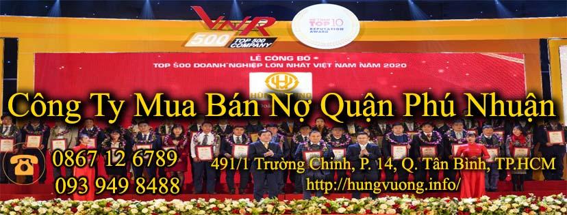 Công Ty Mua Bán Nợ Quận Phú Nhuận