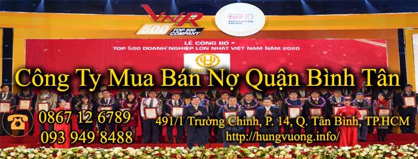 Công Ty Mua Bán Nợ Quận Bình Tân